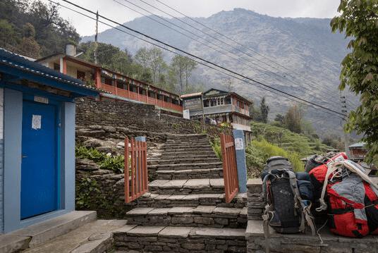 chhomrong village