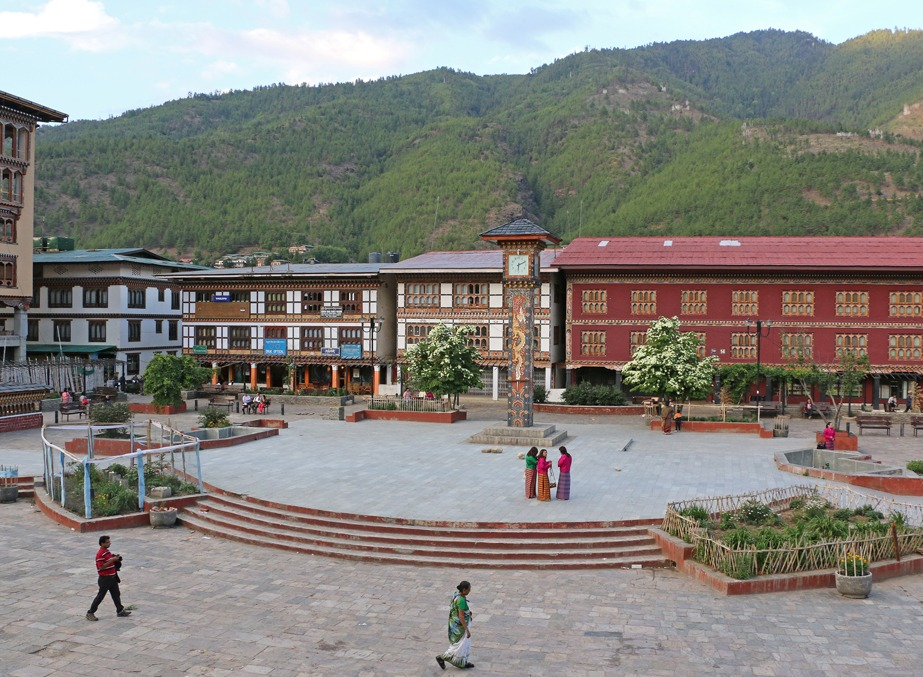Clock Tower Square-Thimpu